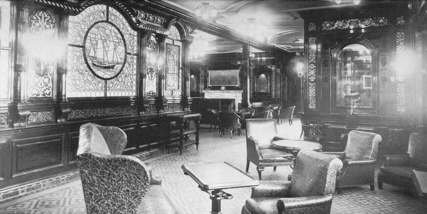 L interieur du titanic histoire du paquebot titanic for 1ere classe salon