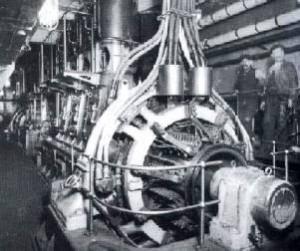 Les generatrices principales du Titanic