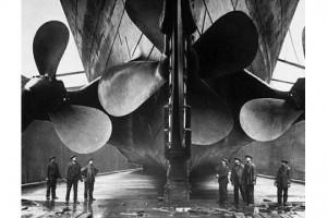 les hélices du Titanic
