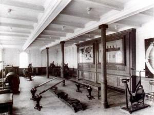 la salle de sport du titanic