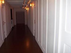 le couloir des troisieme classe du Titanic