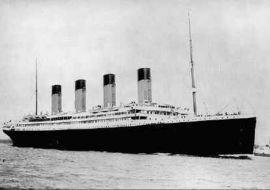 Titanic 13 Avril 1912