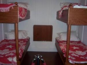 Chambres des troisieme classe du Titanic