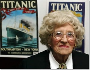 réscapée du Titanic