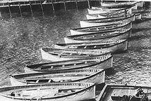 canot sauvetage du titanic