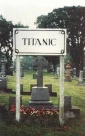 cimetiere de Fairview Lawn du Titanic