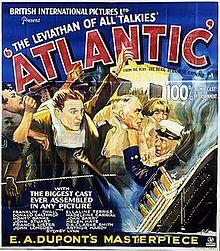 "affiche du film titanic ""Atlantique"""