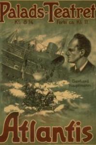 """affiche du film titanic """"Atlantis"""""""