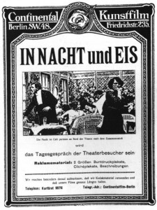 L' affiche du film titanic EN Nacht und EIE