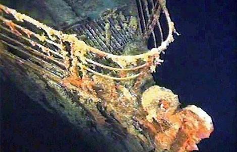 Titanic l exp dition de l pave du titanic 2005 for Titanic epave interieur
