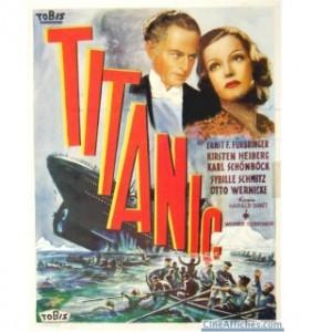 affiche du film Titanic de 1943