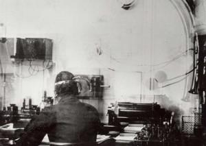 equipement de la station de radio du titanic