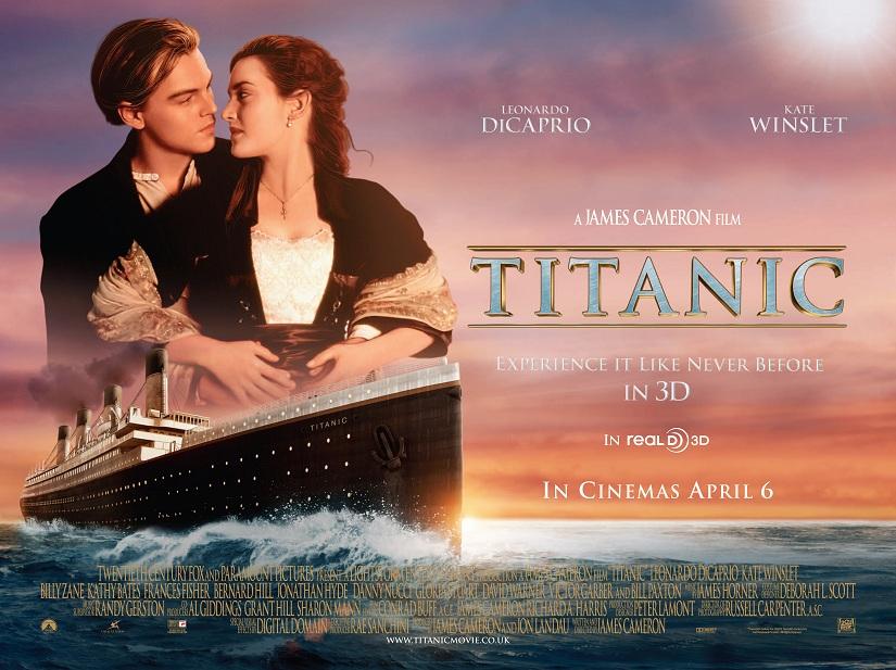 film titanic en 3 d de james cameron. Black Bedroom Furniture Sets. Home Design Ideas