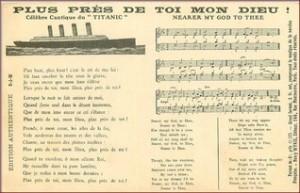 orchestre du Titanic