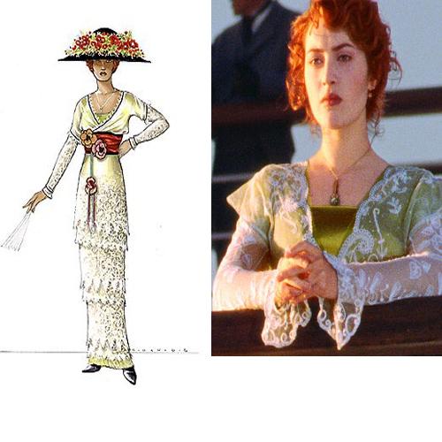 costumes du film Titanic