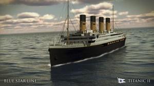 Maquette du TITANIC II