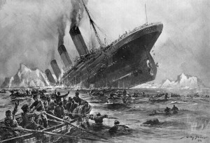 Le Carpathia au secours du Titanic